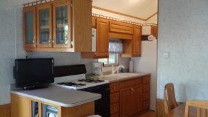 Home 4 Park Model kitchen